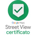 Badge Google Street View Certificato